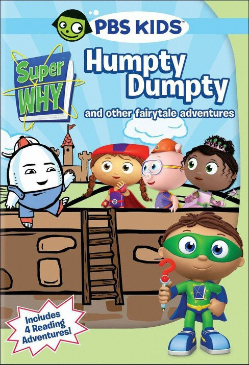 Super why:Humpty dumpty and other fai (DVD) - image 1 of 1