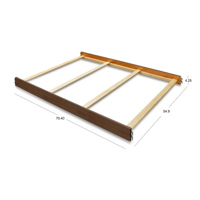 Sorelle 215 Full Size Crib Conversion Rail Chocolate
