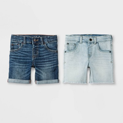 Details about  /Shorts Toddler Boys Waist Jean Cat /& Jack Dark Wash New With Tags Free Shipping