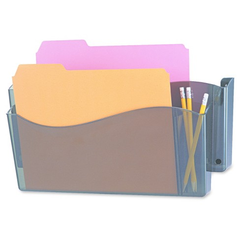Universal® Unbreakable 4-in-1 Wall File, Two Pocket, Plastic, Smoke - image 1 of 1