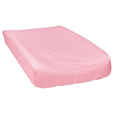 Trend Lab Cotton Candy Changing Pad Cover - Mini Dot