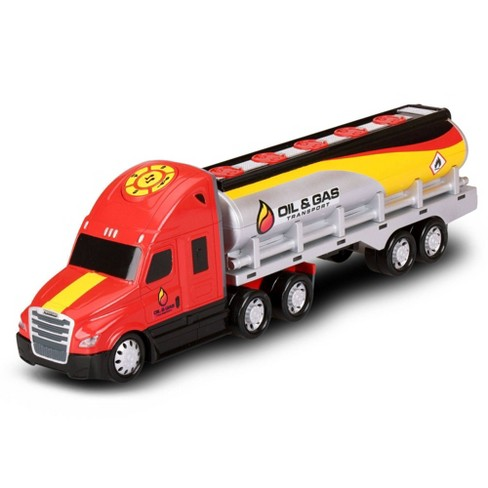 Kid Galaxy Road Rockers Motorized Lights and Sound Oil Gasoline Truck - image 1 of 3