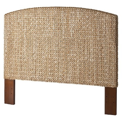 Andres Seagrass King Headboard - Honey