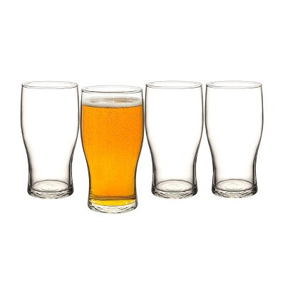 19oz 4pk Glass Craft Pilsner Beer Glasses - Cathy's Concepts