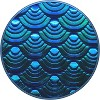 PopSockets PopGrip Cell Phone Grip & Stand - Iridescent Mermaid Wave - image 3 of 3