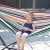 Vivere 9ft Sunbrella Hammock with Stand - image 3 of 4