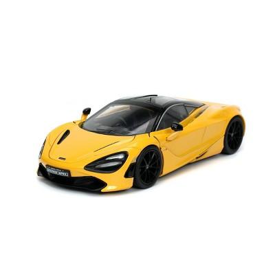 Jada Toys HyperSpec Mclaren 720S Die-Cast Vehicle 1:24 Scale - Yellow