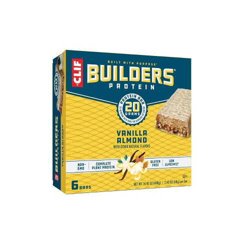 CLIF Builders Protein Bars - Vanilla Almond - 20g Protein   - image 1 of 4