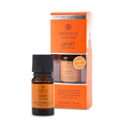 0.33oz Essential Oil Uplift Sweet Orange - Chesapeake Bay Candle
