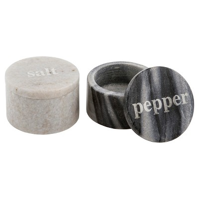 Thirstystone Marble Salt and Pepper Pinch Set