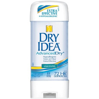 Dry Idea AdvancedDry Unscented Hypo-Allergenic Clear Gel Antiperspirant & Deodorant 3-oz.