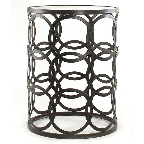 Interlocking Circles Side Table Bronze - FirsTime - image 1 of 4