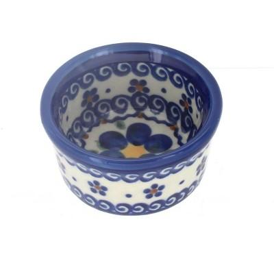Blue Rose Polish Pottery Spring Blossom Small Bowl