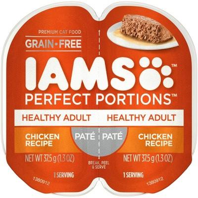 IAMS Healthy Adult Perfect Portions Recipe Wet Cat Food - 2.6oz
