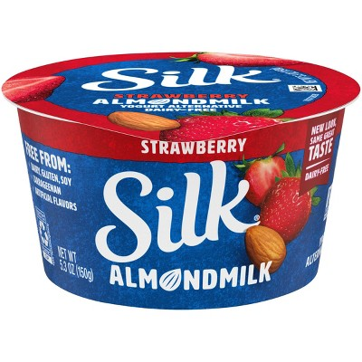 Silk Almond Milk Strawberry Yogurt - 5.3oz
