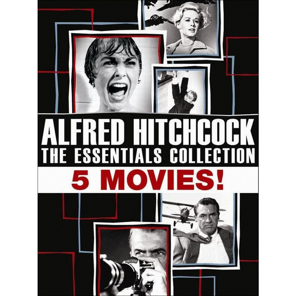 Alfred Hitchcock: The Essentials Collection [5 Discs]