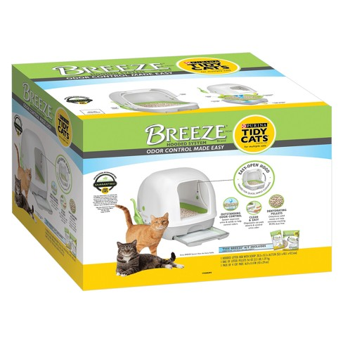 Tidy Cats Breeze Hooded Litter Box System - image 1 of 7