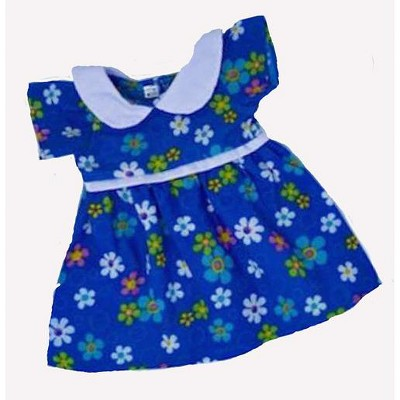 Doll Clothes Superstore Blue Daisy Dress Fits Cabbage Patch Kid Dolls And 15-16 Inch Baby Dolls