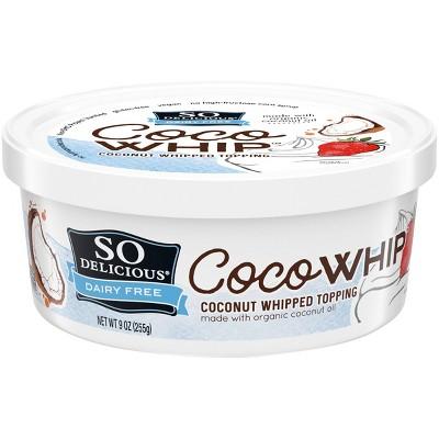 So Delicious Frozen CocoWhip Original - 9oz