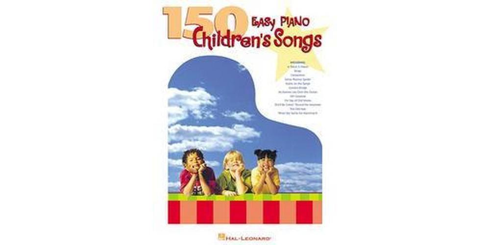 Hal Leonard 150 Easy Piano Children's Songs (Paperback)