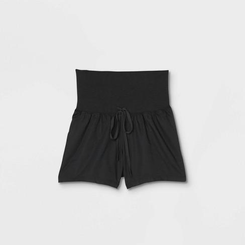 Twill Maternity Pull-On Shorts - Isabel Maternity by Ingrid & Isabel™  - image 1 of 2
