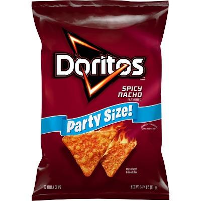 Doritos Spicy Nacho Flavored Tortilla Chips - 15.5oz.