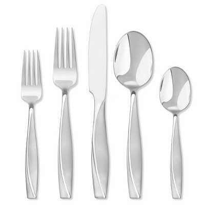 Hampton Forge Londontown Frosted - 20 Piece Flatware Set, Service for 4