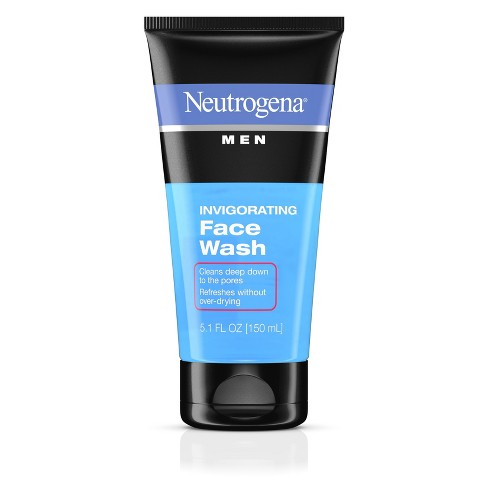 Neutrogena Men Daily Invigorating Foaming Gel Face Wash - 5.1 fl oz - image 1 of 4