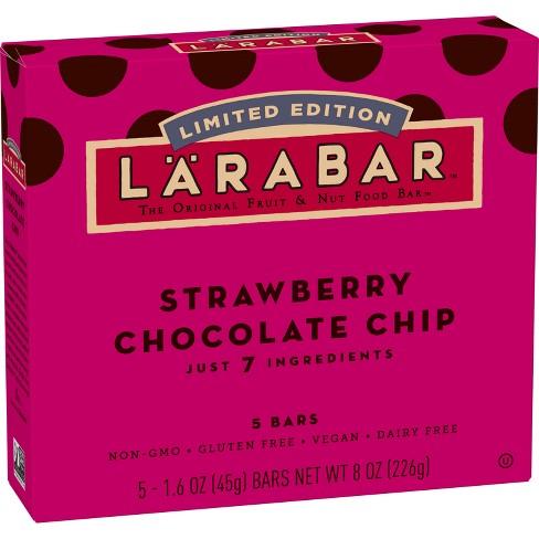 Larabar Strawberry Chocolate Chip The Original Fruit & Nut Food Bars - 8oz - image 1 of 3