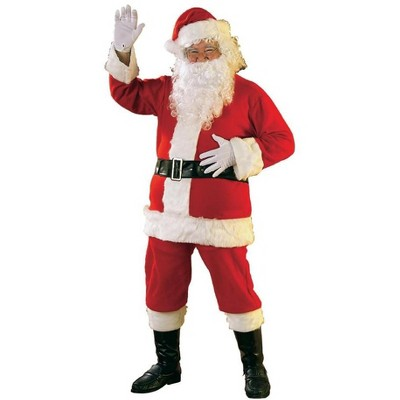 Rubie's Deluxe Flannel Santa Suit Adult Costume