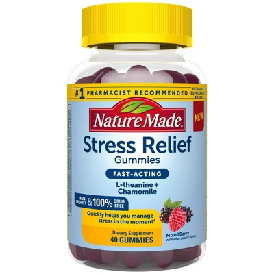 Nature Made Stress Relief Fast Acting Gummies - 40ct