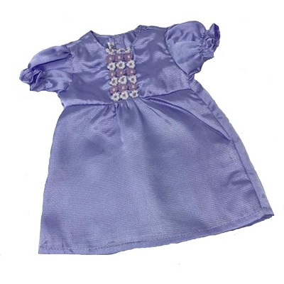 Doll Clothes Superstore Lavender Satin Nightgown For Cabbage Patch Dolls