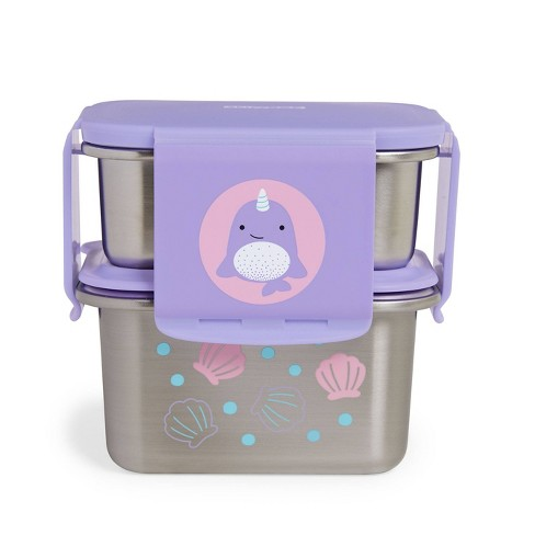 Skip Hop Zoo Stainless Steel Lunch Kit - Narwhal - image 1 of 2
