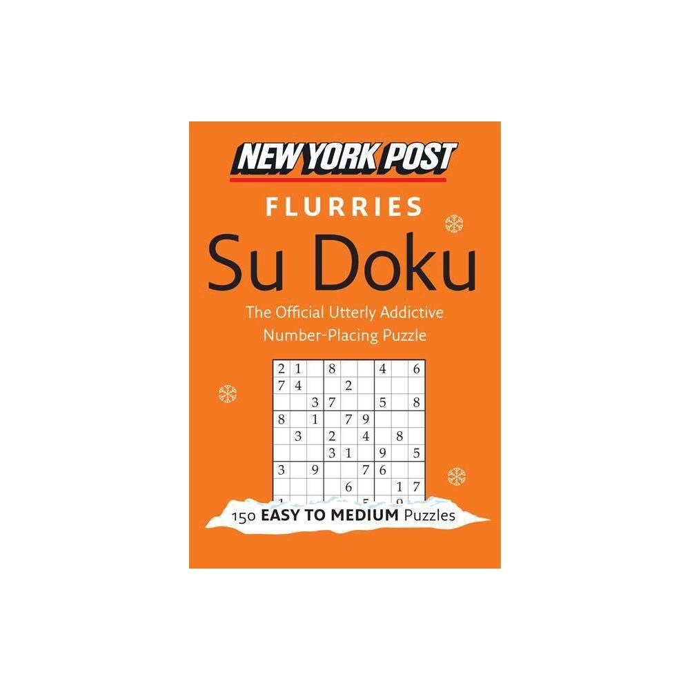 New York Post Flurries Su Doku By Harpercollins Publishers Ltd Paperback