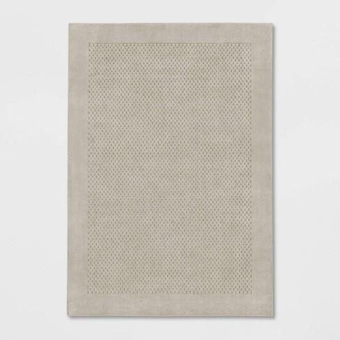 Basket Weave Solid Tufted Rug - Made By Design™ - image 1 of 3