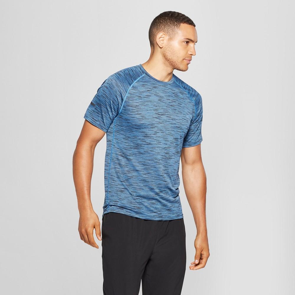 Men's Jacquard Running T-Shirt - C9 Champion Quarry Blue Heather XL