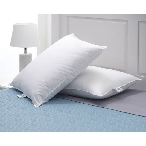 Standard 2pk Down Bed Pillow White - Allied Home - image 1 of 4