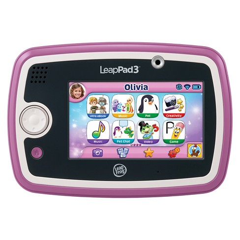 LeapFrog® LeapPad3™ Kids' Learning Tablet - Pink - image 1 of 16