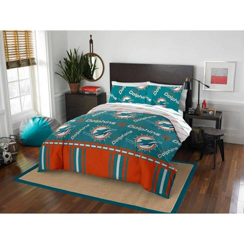 Nfl Miami Dolphins Rotary Bed Set Target, Miami Dolphins Crib Bedding Sets