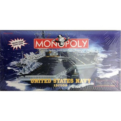 Monopoly - U.S. Navy Edition (1998 Edition) Board Game