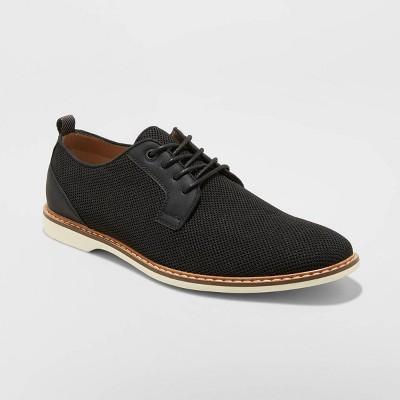 Men's August Knit Oxford Dress Shoes - Goodfellow & Co™ Black
