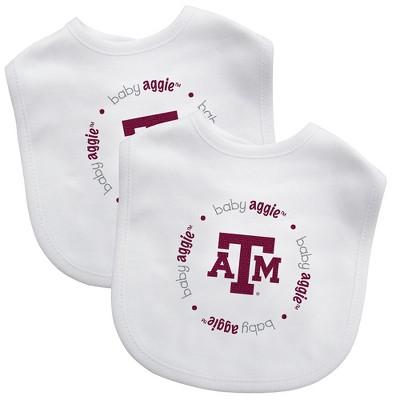 NCAA Texas A&M Aggies Baby Bib 2pk