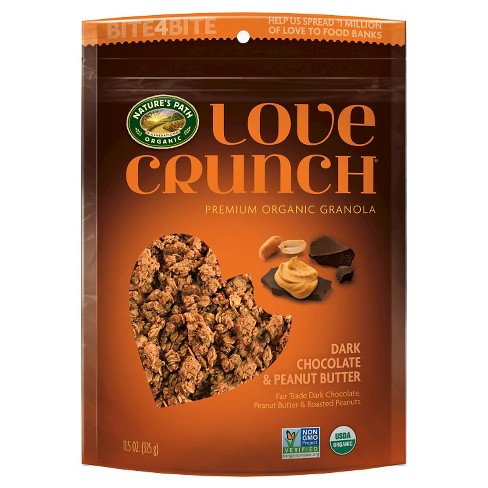 Nature's Path Love Crunch Dark Chocolate and Peanut Butter - 11.5oz - image 1 of 1