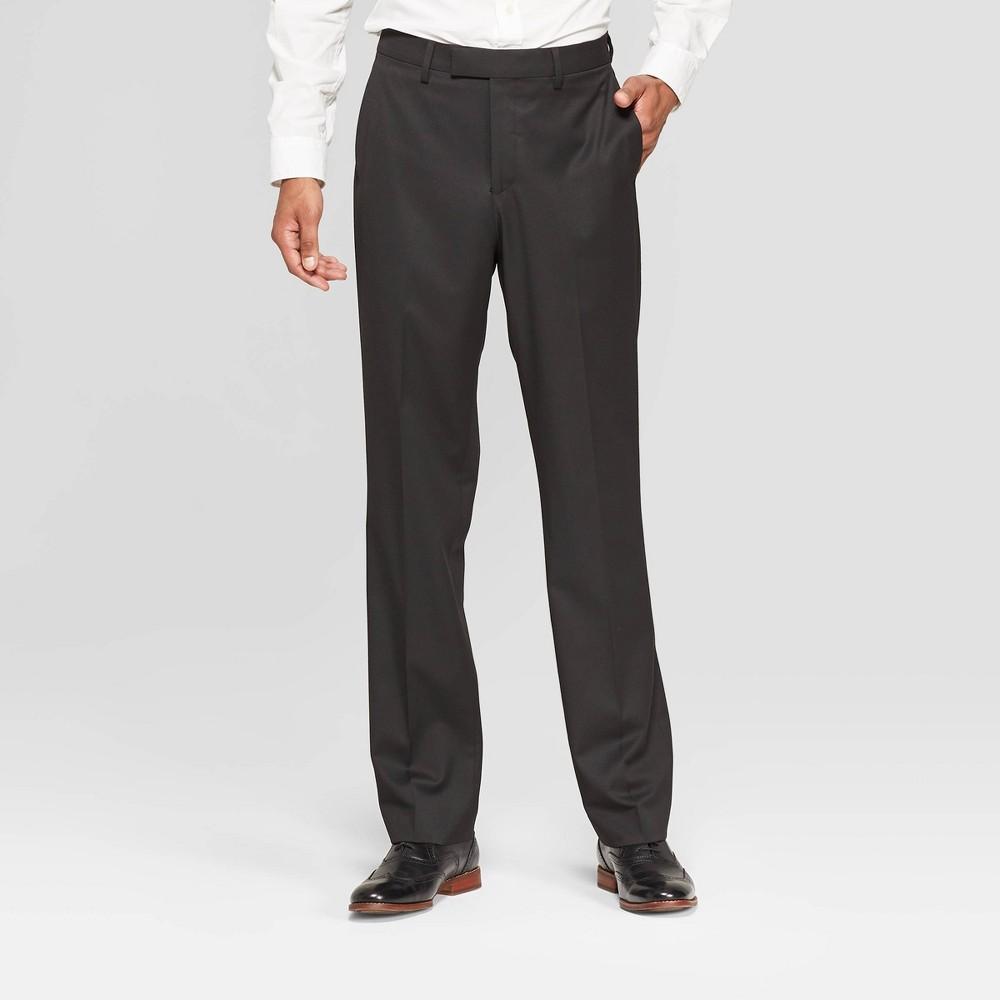 Mens Standard Fit Suit Pants - Goodfellow & Co Black Tie 34x34 Compare
