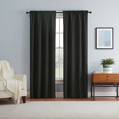 Braxton Thermaback Blackout Curtain Panel - Eclipse