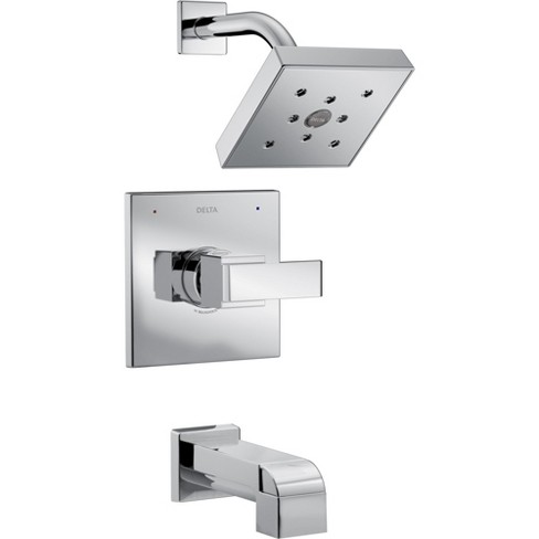 Delta Faucet T14467 Ara Monitor 14 Series 1.75 GPM Single Function Pressure Balanced Tub and Shower Trim Package - image 1 of 4