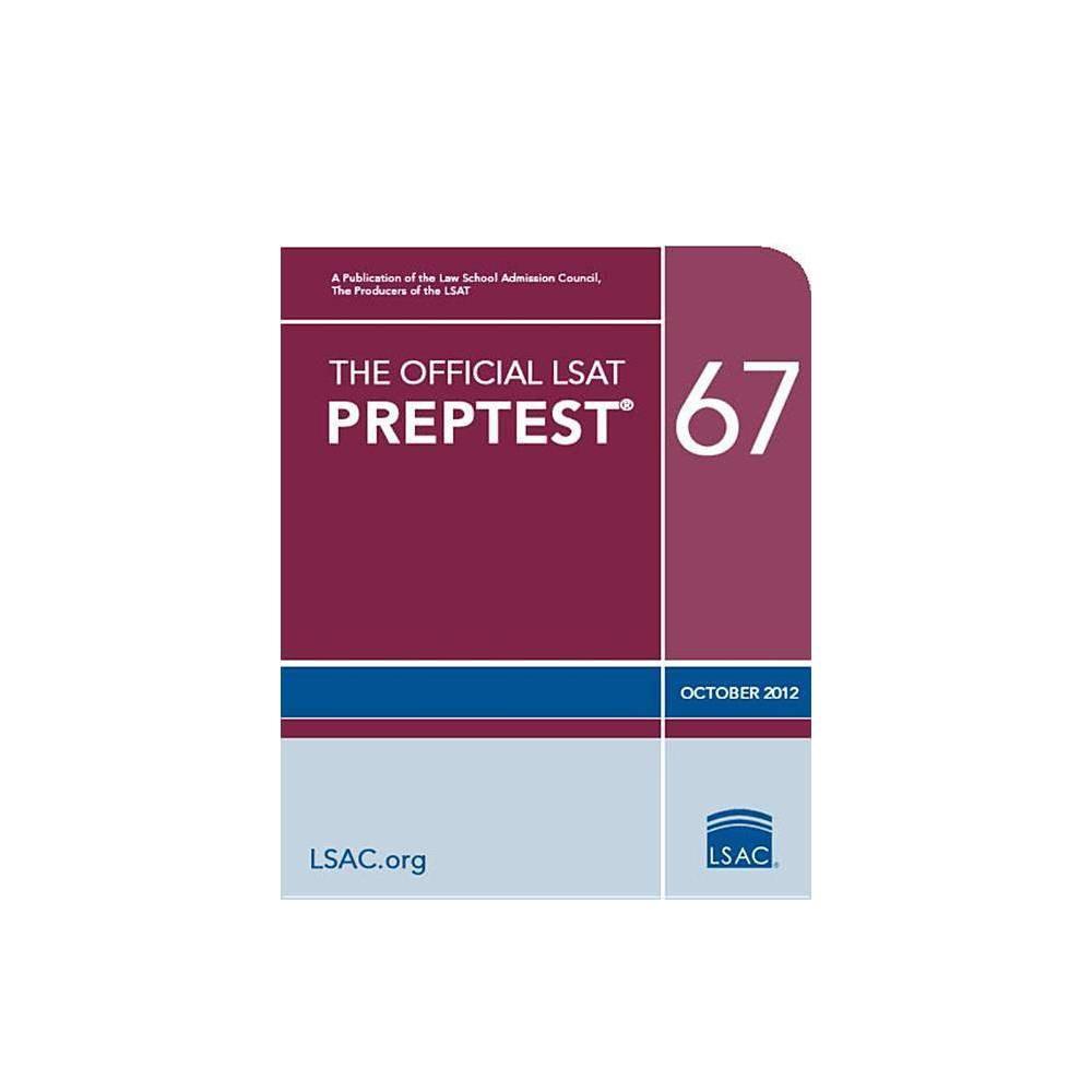 The Official LSAT Preptest 67 - (Official LSAT PrepTest) (Paperback)