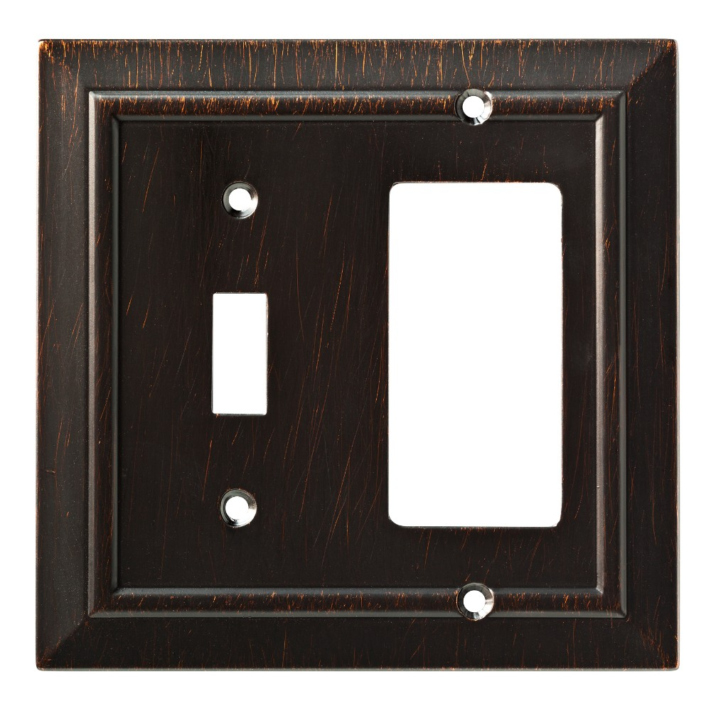 Classic Architecture Switch/Decorator Wall Plate Venetian Bronze - Franklin Brass