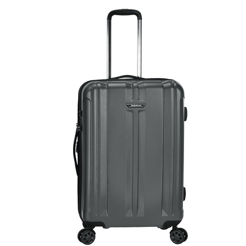 """Traveler's Choice 26"""" La Serena Spinner Suitcase - Gray - image 1 of 4"""