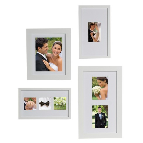 Gallery Flat Museum Picture Frame White 12.5\